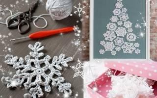 Очень красивые вязаные крючком снежинки. Вязаные снежинки крючком: схемы с описанием и инструкциями
