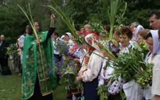 Праздник троица приметы традиции и обычаи. Традиции и обычаи. На Троицу можно убираться