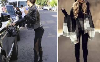 С чем носить лосины, чтобы выглядеть стильно, а не стрёмно? С какой обувью носить легинсы? Варианты вашего образа к каждому сезону и стилю