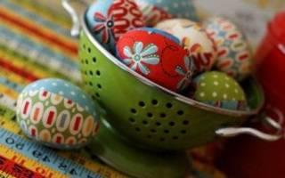 Текстильное яйцо выкройка. Пасхальные яйца из ткани