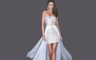 Платья со шлейфом: почувствуй себя принцессой. Платья со шлейфом (фото)