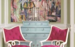 Сочетание синего и розового. Сочетание розового цвета с другими цветами: в одежде, в интерьере