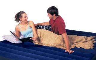 Как сдуть надувной матрас: простые советы. Как правильно сдуть надувной матрас