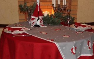 Идеи украшения новогоднего стола. Новогодняя сервировка (104 идеи украшения стола)