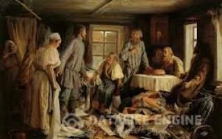 Будни русской семьи в древней руси. Семейный уклад в Древней Руси