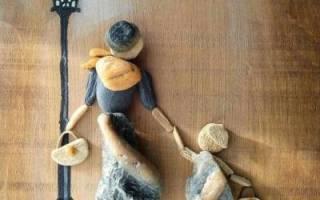 Панно из камня своими руками. Галька в интерьере — идеи использования. Клей, краски и другие материалы для творчества