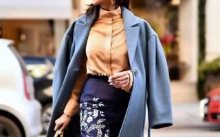 Что будет модно осенью году. Что носить осенью: модная осенняя одежда — фото идеи