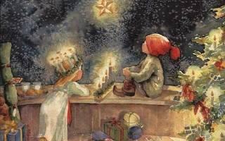 Сочельник традиции обычаи. Что приготовить на Рождество. Приметы на Сочельник