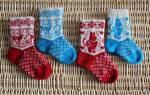 Детские носочки спицами. Как связать детские носочки