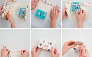 Как красиво упаковать канцелярские принадлежности в подарок. Как упаковать подарок в подарочную бумагу красиво своими руками: без коробки, конвертом, в виде конфеты. Круглый, плоский, большой: пошаговая инструкция