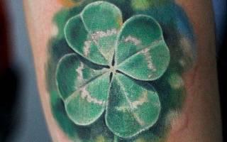 Значение наколки клевер. Значение татуировки трилистник