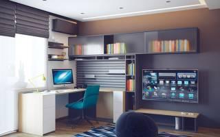 Стильный дизайн комнаты для мальчика подростка. Идеи интерьера для комнаты мальчика подростка