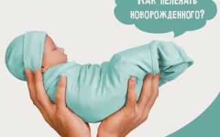 Техники свободного пеленания грудничка: пошаговые инструкции в картинках. Как правильно выполнять пеленание грудного ребенка