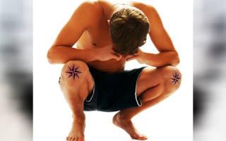 Татуировка звезды на коленях. Значение наколки звезда