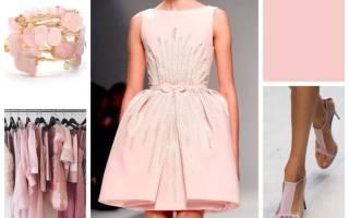 Розовый цвет в одежде: как носить, с чем сочетать розовый цвет. Сочетание цветов: розовый
